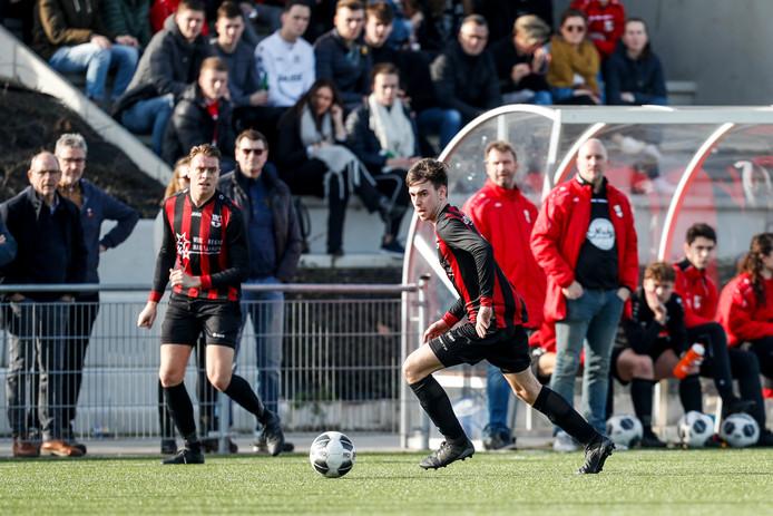 SC Gastel won voor de derde keer dit seizoen met 1-0, voor de derde keer dankzij een doelpunt van Jurgen Buuron. (archieffoto)
