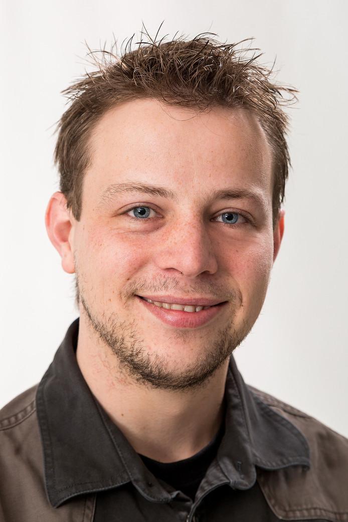 Het Zoetermeerse SP-raadslid Lennart Feijen.