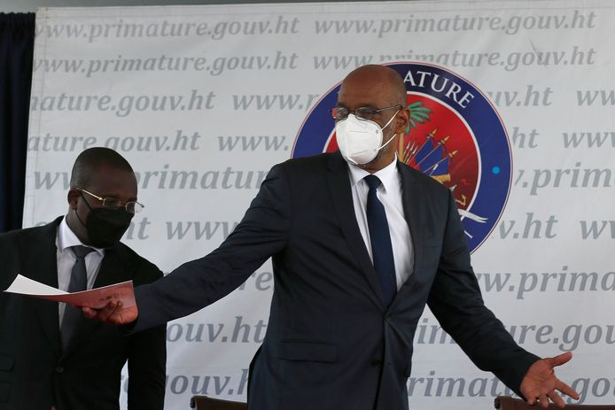 Ariel Henry, premier van Haïti, had op de dag van de moord twee telefoongesprekken met de hoofdverdachte.