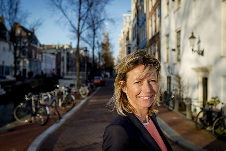 Portret van de Amsterdamse wethouder Economische Zaken en loco-burgemeester Kajsa Ollongren. Beeld anp