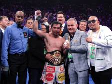 Boksbond WBA pakt kampioen Manny Pacquiao zijn wereldtitel af