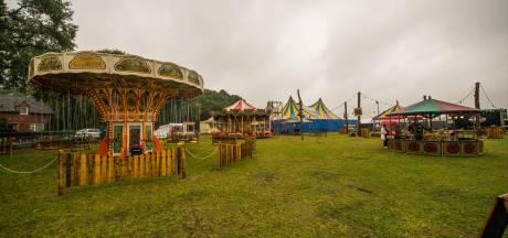Nostalgische kermis in Eersel lijdt onder weersomstandigheden