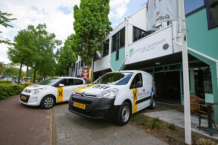 De deelauto's die bewoners van X EL momenteel gebruiken.