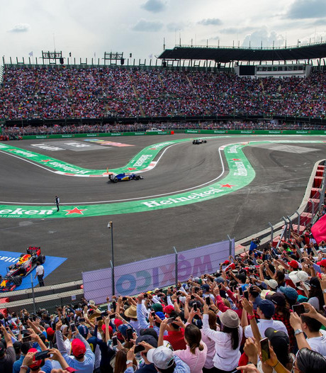 GP van Mexico kan gewoon doorgaan: geen schade aan F1-circuit