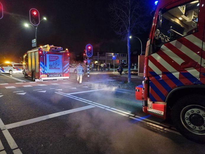 Zaterdagavond heeft er een aanrijding plaatsgevonden in Hengelo