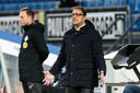 Zeljko Petrovic moet op de laatste speeldag in de eredivisie proberen om boven FC Emmen te eindigen.