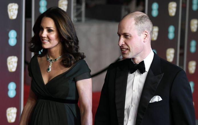 Tijdens de British Academy Film Awards in 2018