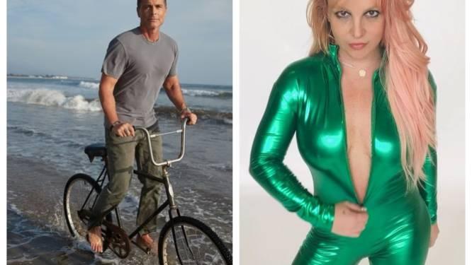 24/7 CELEBS. Rob Lowe is 31 jaar nuchter en Britney Spears houdt een verkleedpartijtje