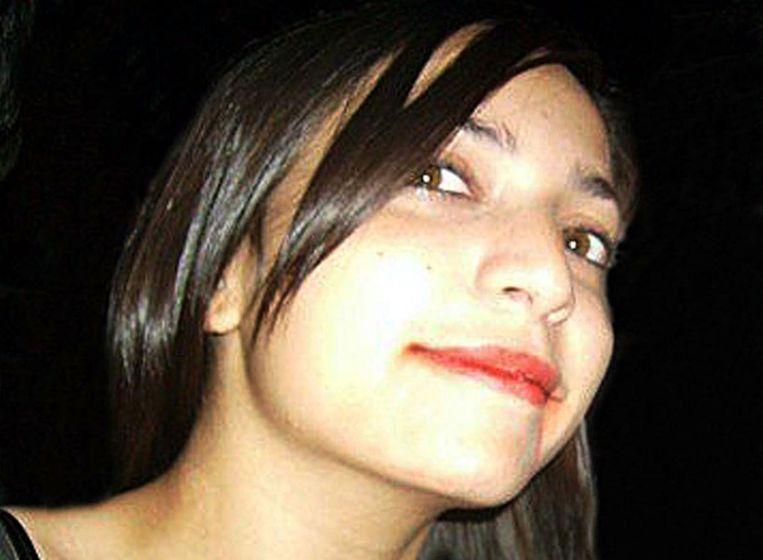 Meredith Kercher, de vermoorde Britse studente. Beeld getty