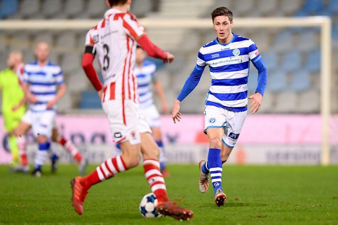 De Graafschap-middenvelder Jesse Schuurman.