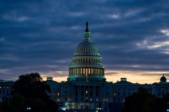 Het Capitool, waar zowel het Amerikaanse Huis van Afgevaardigden als de Amerikaanse Senaat gehuisvest zijn.