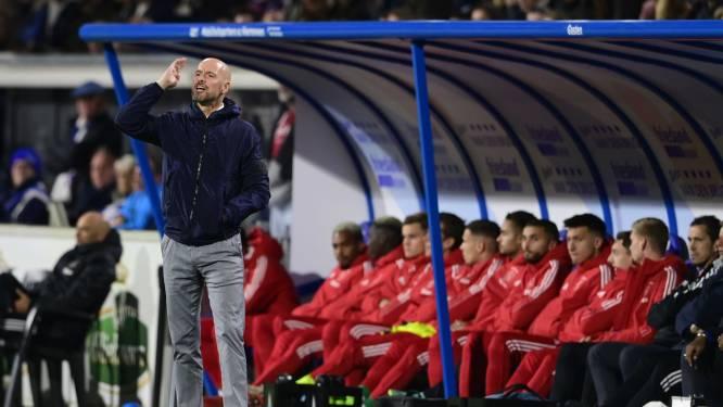 Ten Hag over interlandperiode: 'Voor veel spelers is dit een verloren week'