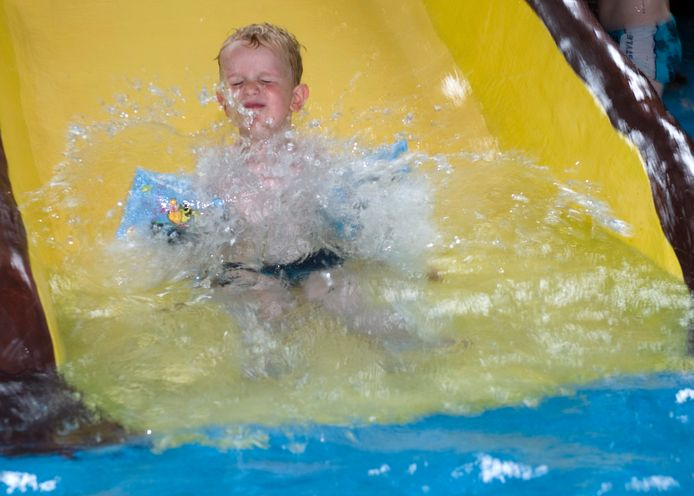 Voorlopig geen waterpret in het zwemparadijs van de Zandstuve.
