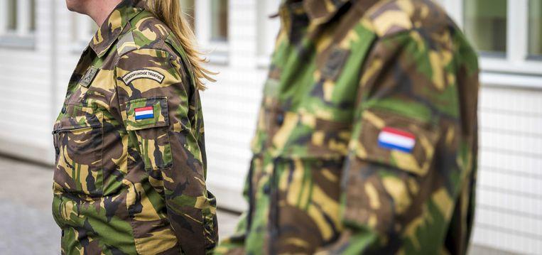 Defensie maakt veel plannen, die in de praktijk vaak niet werken, stelt de commissie. Beeld ANP