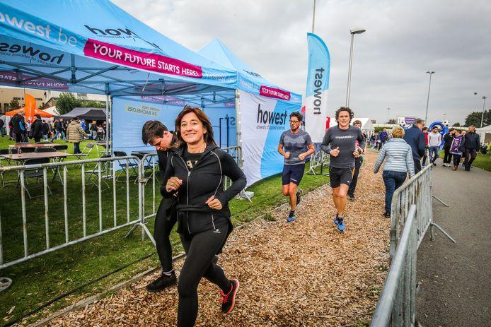 Een beeld uit een vorige editie: het loopevenement gaat dit jaar alweer niet door.