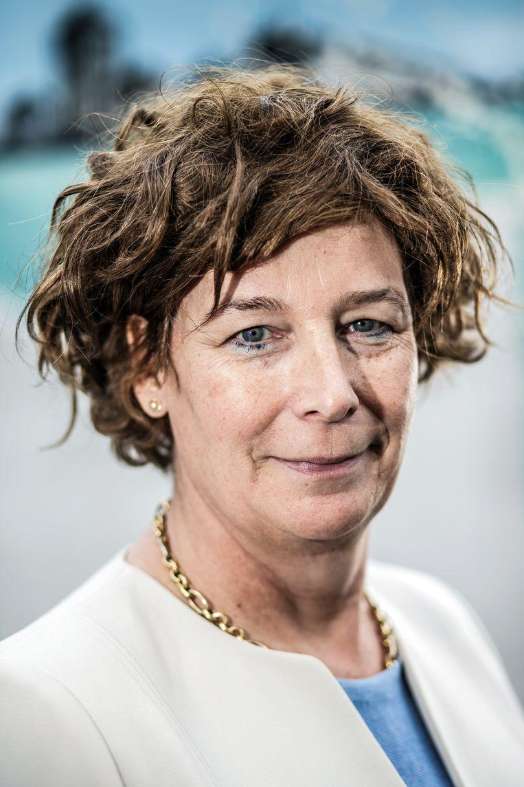 Gynaecoloog en Europees Parlementslid van Groen Petra De Sutter. Beeld ID / BOB VAN MOL