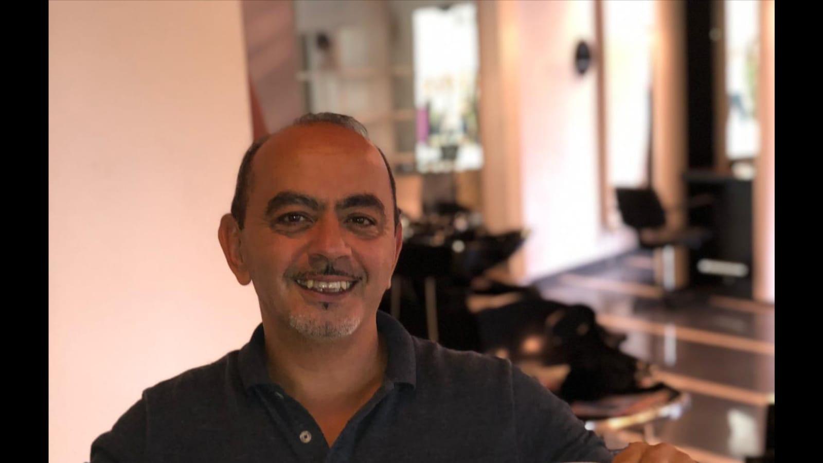 Ali Tsouli, eigenaar van kapsalon Kapper Alissandro in Breda.