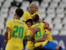 Brazilië wint ook tweede duel in Copa América