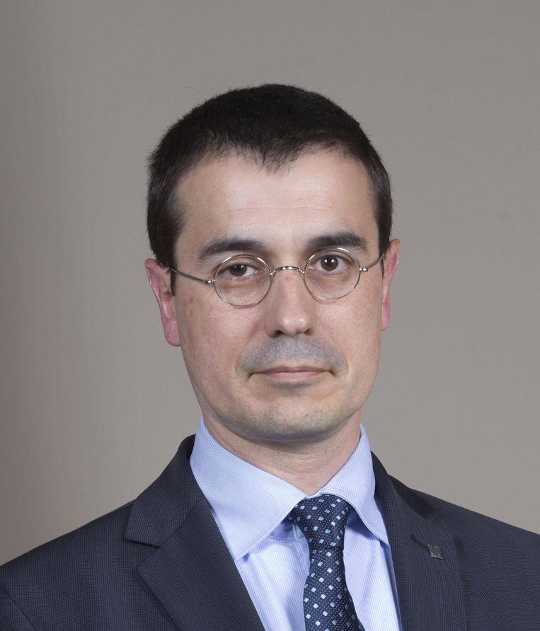 Amadeu Altafaj, Catalaanse vertegenwoordiger bij de EU. Beeld kos