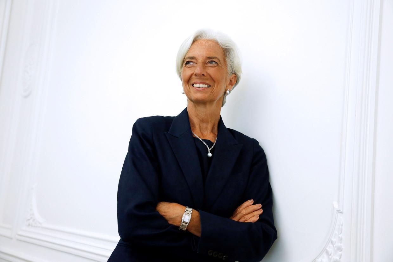 Christine Lagarde, de grande dame van het IMF gaat de ECB leiden. Beeld AFP