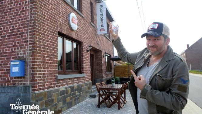 Tournée Générale: Hier reserveerde Roel Vanderstukken (44) een plekje om van zijn eerste vers getapte pint te genieten
