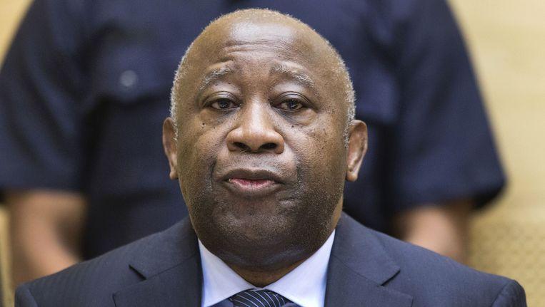Laurent Gbagbo Beeld AFP