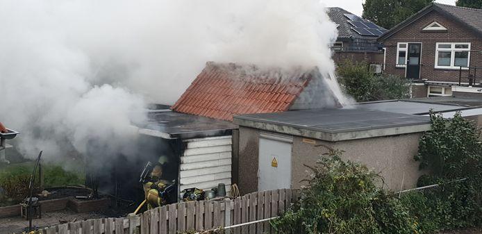 De brand in Hengelo
