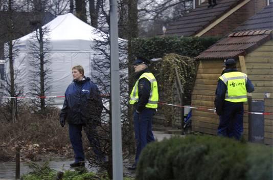 Onderzoek na een familiedrama in Hengelo in 2007.