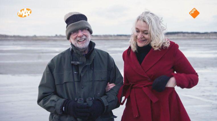 Stella Bergsma en Hans Dorrestijn kunnen het uitstekend met elkaar vinden. Beeld