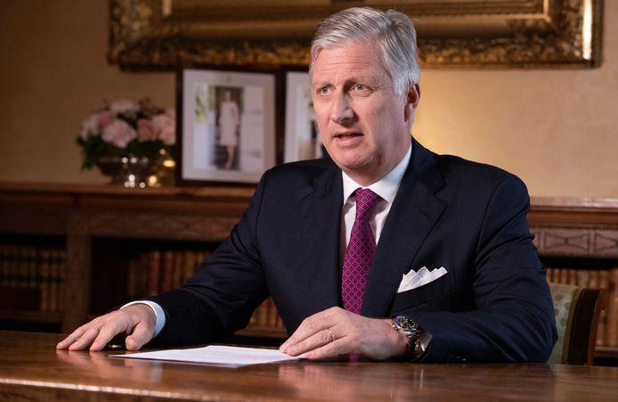 """Koning Filip: """"België bevindt zich vandaag in een cruciale fase."""""""