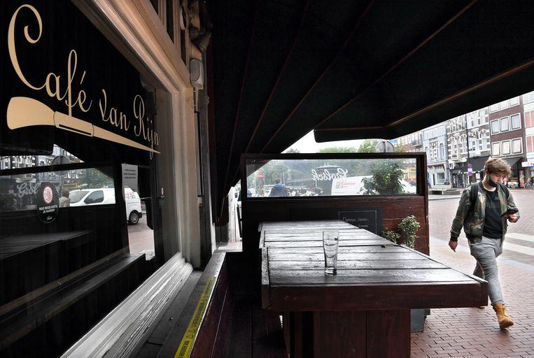 Café van Rijn in Nijmegen. Beeld Marcel van den Bergh / de Volkskrant