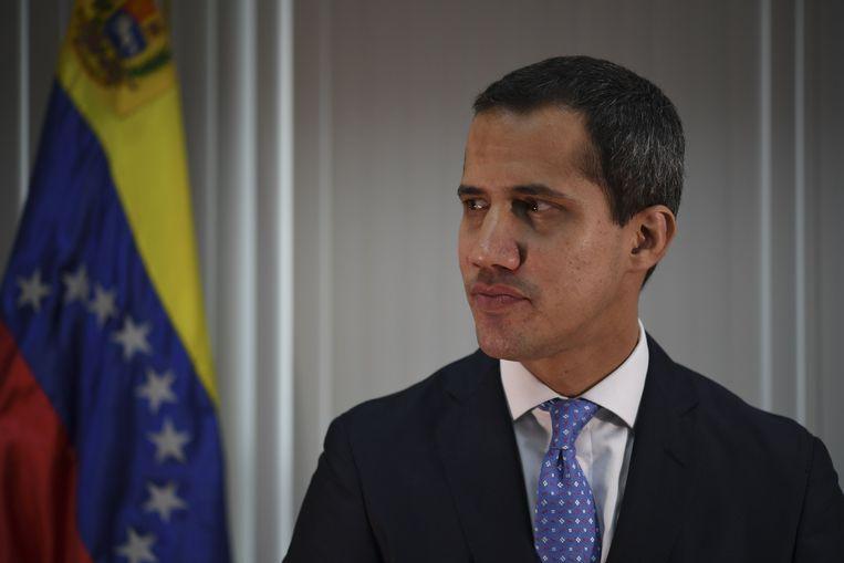 De Venezolaanse oppositieleider Juan Guaidó. Beeld AFP
