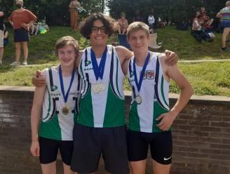 Kapelse atletiekclub behaalt vier gouden medailles en een zilveren plak op Vlaams jeugdkampioenschap