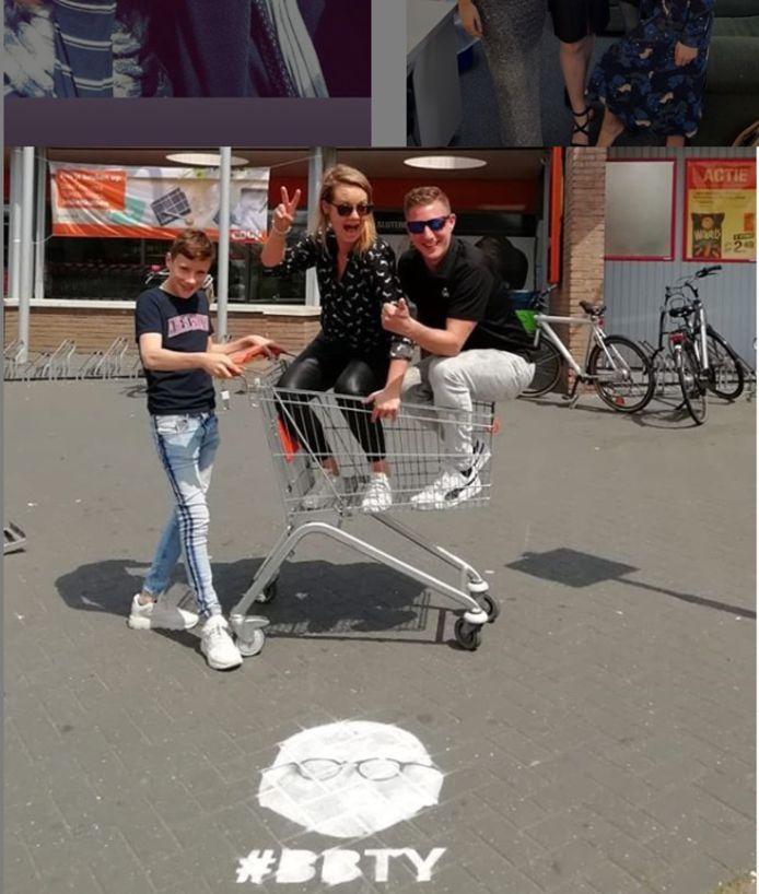 Met deze foto begon het jeugdjongerenwerk in Holten de actie