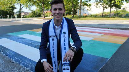 """Nick Van Vooren (22) uit Eeklo neemt waardig afscheid als ereheer Mister Gay Belgium: """"Onwaarschijnlijk dankbaar voor alle mooie kansen die ik heb gekregen"""""""