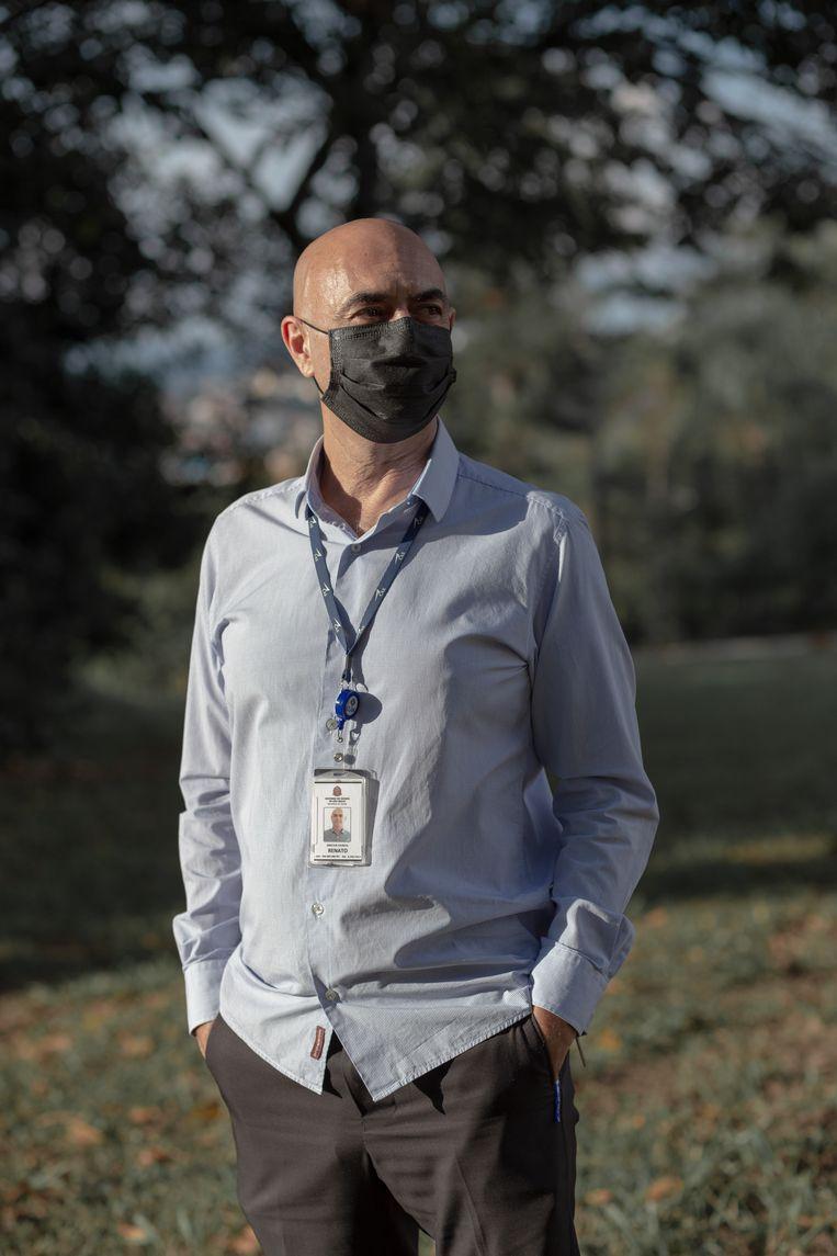 Renato Tardelli (61) is directeur van het Franco Da Rocha-ziekenhuis. Beeld Gabriela Portilho