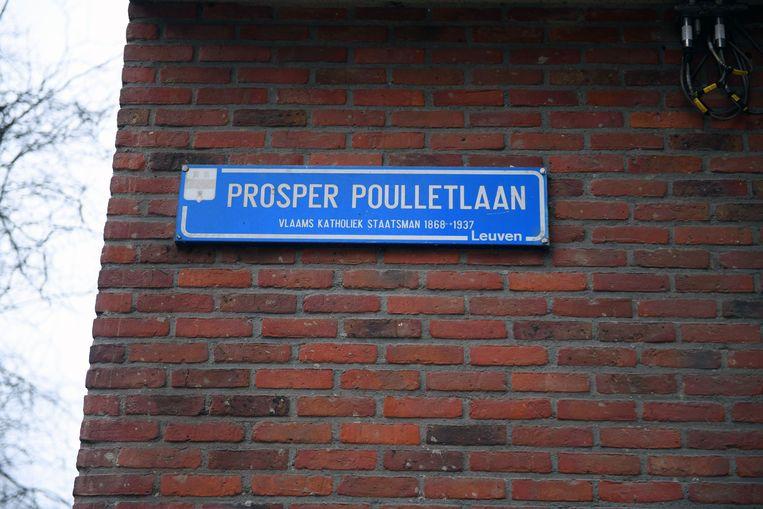 Overval in de Prosper Poulletlaan in Leuven