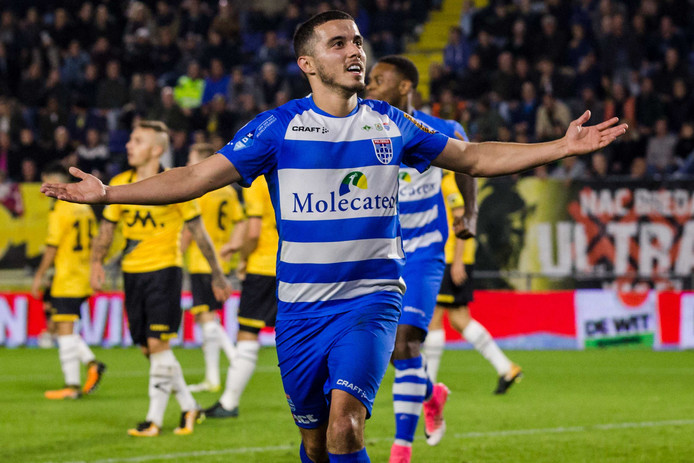 PEC Zwolle speler Mustafa Saymak