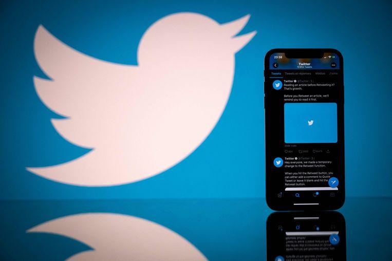De eerste tweet ooit werd gepubliceerd op 21 maart 2006 en is afkomstig van Twitter-topman Jack Dorsey.  Beeld AFP