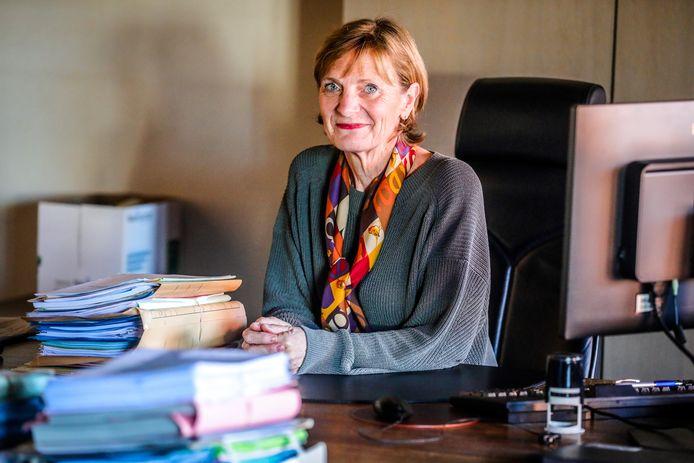 Christine Pottiez was 30 jaar lang onderzoeksrechter in Brugge.