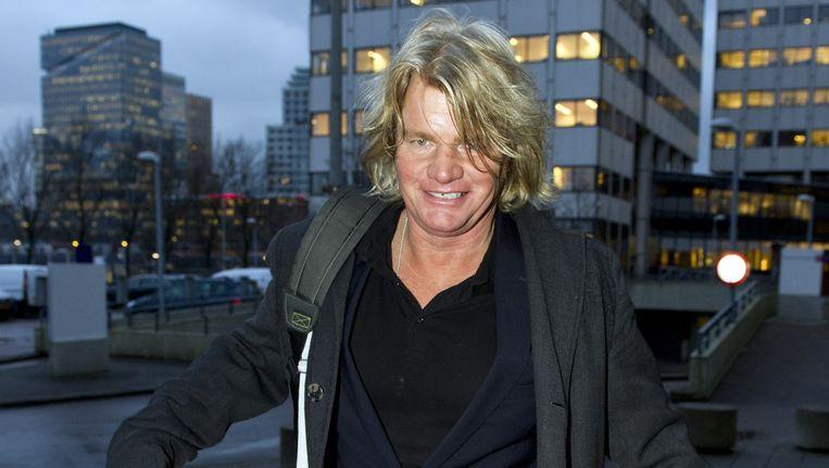 Rob Bolland arriveert bij de rechtbank in Amsterdam. Beeld ANP