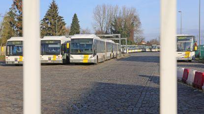 Busverkeer in West-Vlaanderen zwaar verstoord door stiptheidsacties