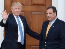 Oud-gouverneur Christie bedankt ervoor Trumps stafchef te worden