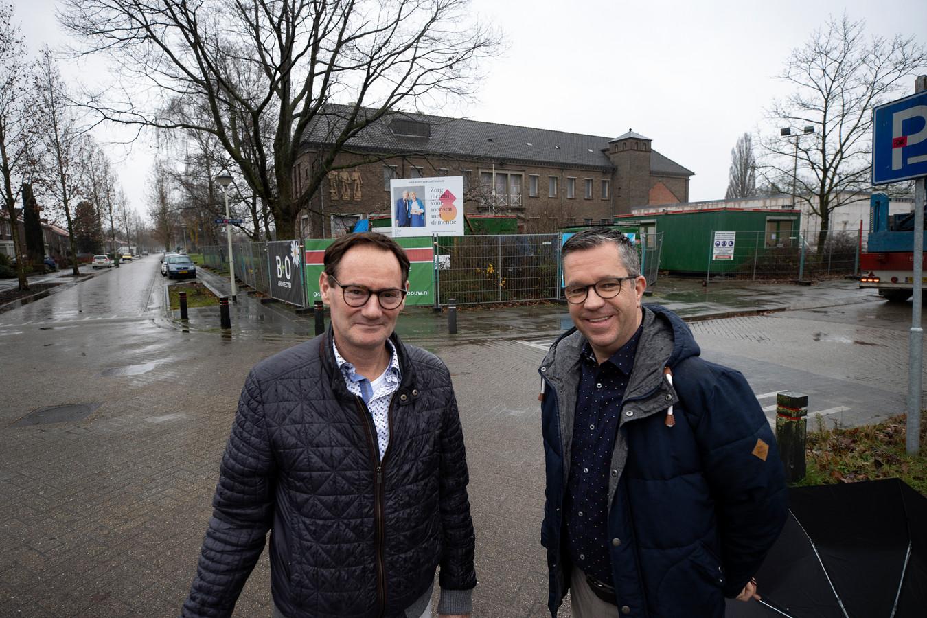 Oswald Verleg en Petro Klompen worden zorgkoppel in het nieuwe Gastenhuis in Deurne.