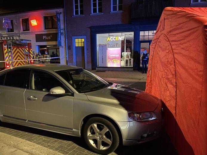 Het slachtoffer werd aangereden op de Biest in Brecht.