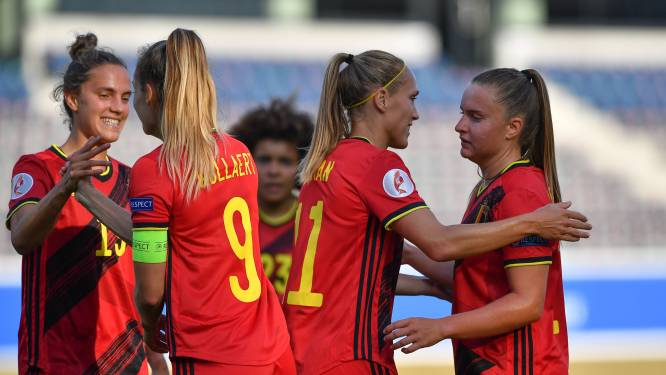 """België stelt zich samen met Duitsland en Nederland kandidaat voor WK vrouwenvoetbal 2027: """"Perfecte mix"""""""