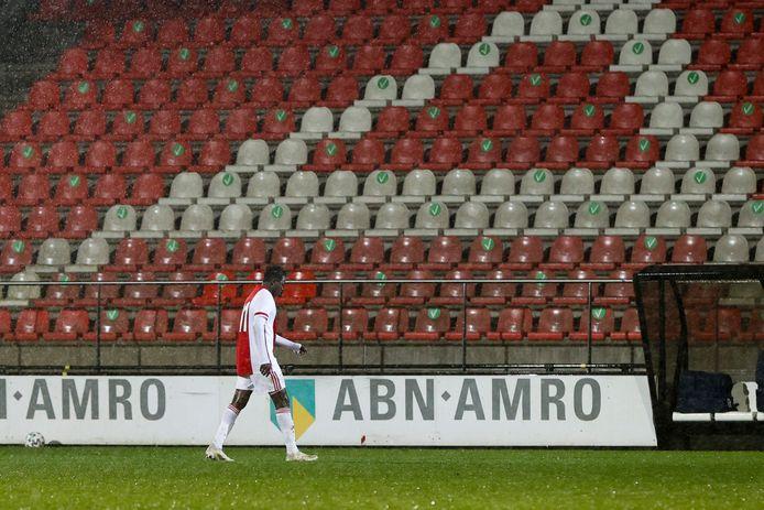 Bandé speelde acht wedstrijden mee bij Jong Ajax.