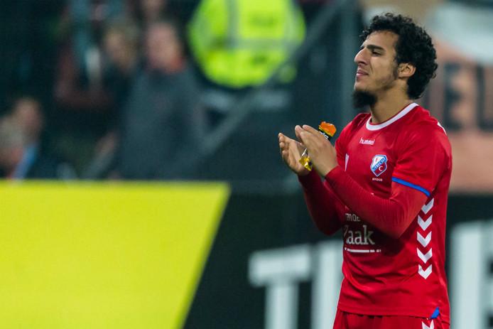 Tranen in de ogen bij Yassin Ayoub