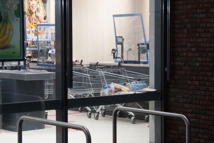 Meerdere mensen onwel bij Lidl Kaatsheuvel, winkel ontruimd