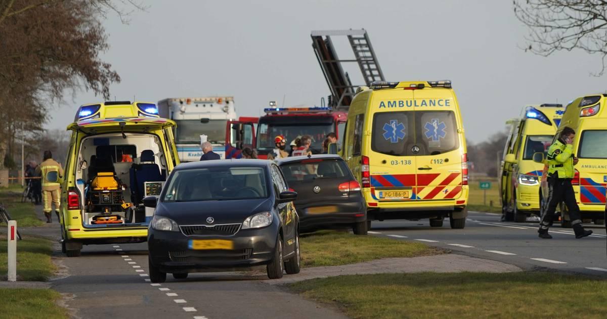 Twee meisjes komen om door aanrijding met auto in Coevorden.